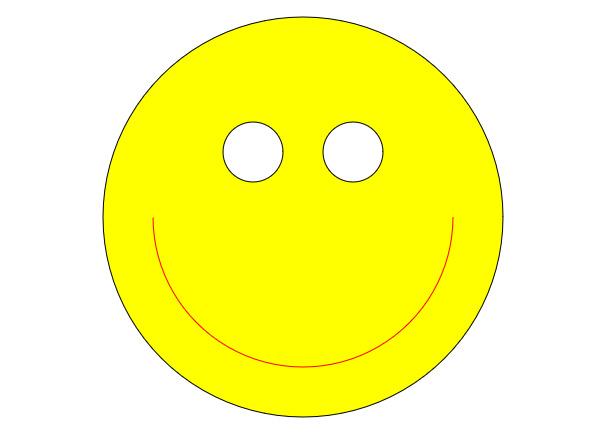 利用HTML5中的Canvas绘制一张笑脸的教程